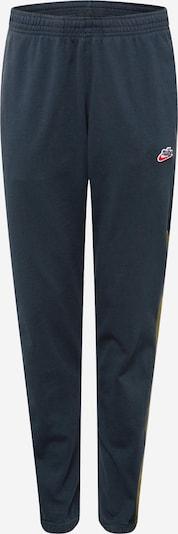 Nike Sportswear Kalhoty 'Heritage Windrunner' - tmavě modrá / olivová, Produkt