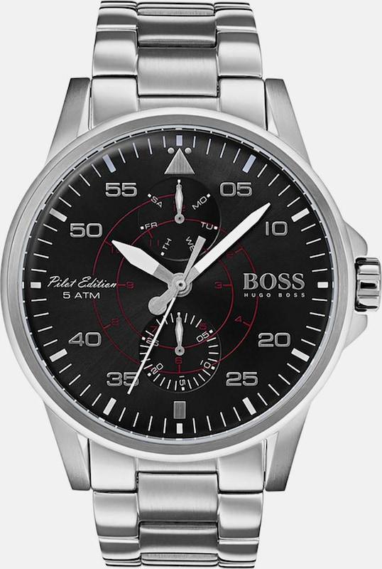 BOSS Boss Multifunktionsuhr »AVIATOR, 1513518«