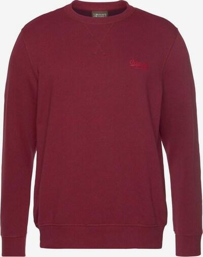 Man's World Sweatshirt in rot, Produktansicht