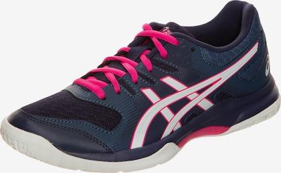 ASICS Handballschuh in dunkelblau / pink / weiß, Produktansicht
