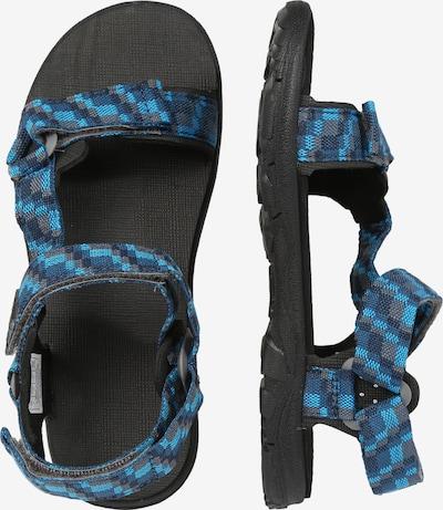 JACK WOLFSKIN Schuhe 'Seven Seas 2' in blau / schwarz: Seitenansicht