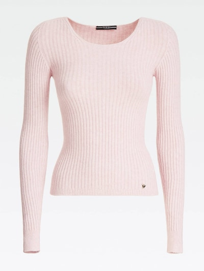 GUESS Pullover in rosa, Produktansicht