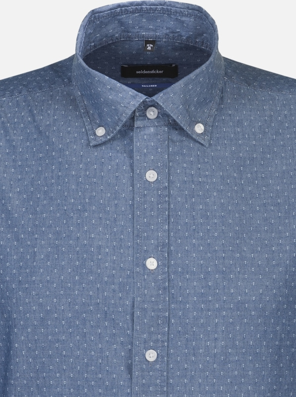 SEIDENSTICKER Business Hemd 'TailGoldt' in blau  Freizeit, schlank, schlank schlank schlank 1c244b