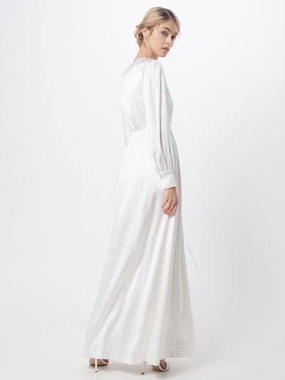 IVY & OAK Suknia wieczorowa w kolorze białym: Widok od tyłu