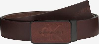 Calvin Klein Opasky 'J 3.5CM ADJ MONO PLAQUE BELT' - hnedé, Produkt