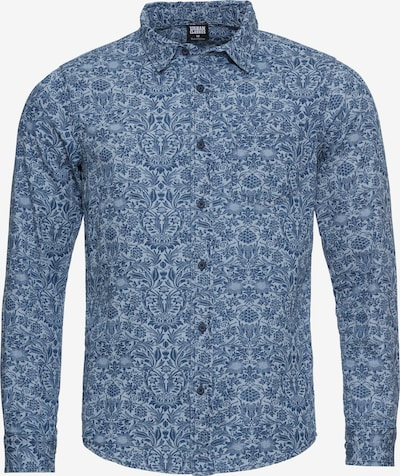 Urban Classics Hemd in blau / hellblau, Produktansicht