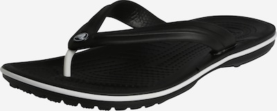 Crocs T-bar sandals 'Crocband Flip M' in Black / White, Item view
