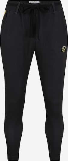 SikSilk Hose 'siksilk fitted smart tape jogger pant' in schwarz, Produktansicht