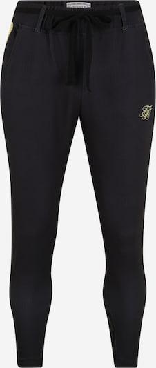 SikSilk Kalhoty 'siksilk fitted smart tape jogger pant' - černá, Produkt