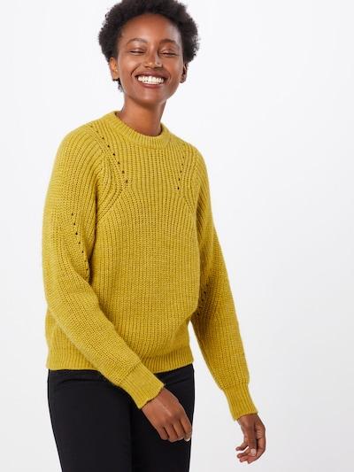 minimum Pullover 'allirea' in gelb, Modelansicht
