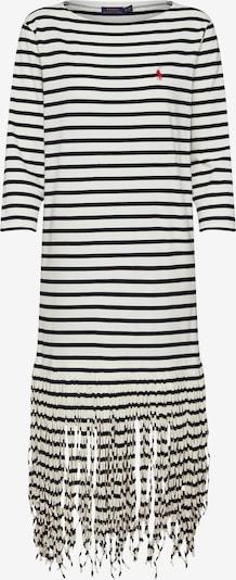 POLO RALPH LAUREN Kleider 'FRINGE DRESS-3/4 SLEEVE-CASUAL DRESS' in weiß, Produktansicht