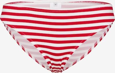 EDITED Bikinihose 'Midori' in rot / weiß: Frontalansicht