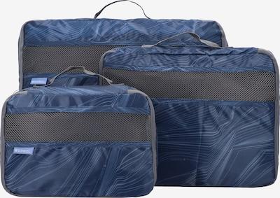 Gabol Schuhbeutel Set 3tlg. in blau, Produktansicht