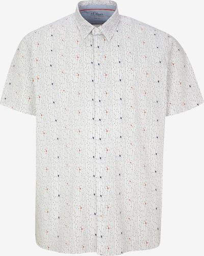 s.Oliver Men Big Sizes Hemd in blau / grau / rot / weiß, Produktansicht