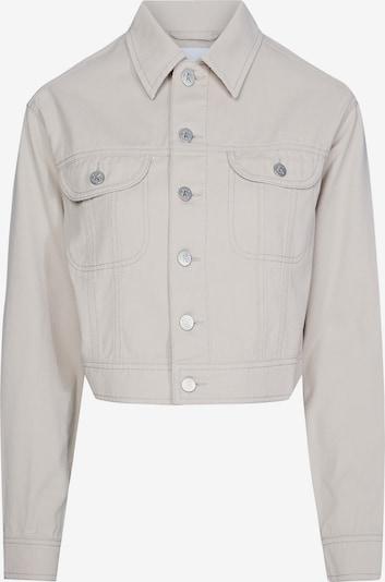 Calvin Klein Jeans Jacke in white denim, Produktansicht