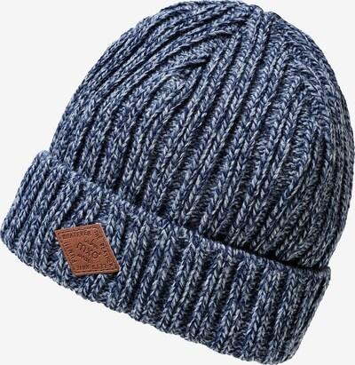 MAXIMO Mütze in blaumeliert, Produktansicht
