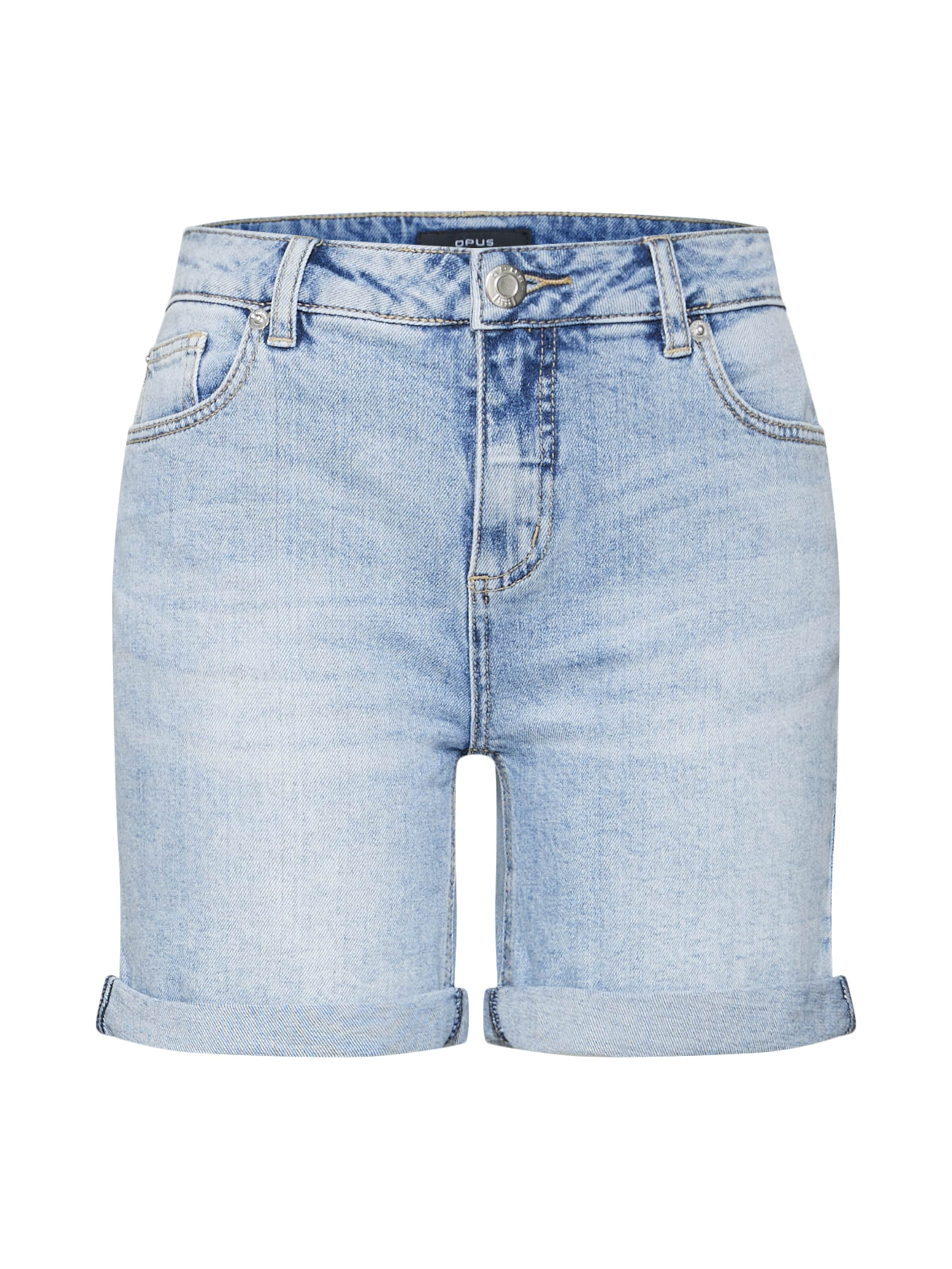 Opus 'manni' Blue In Shorts Denim XuiTOPkZ