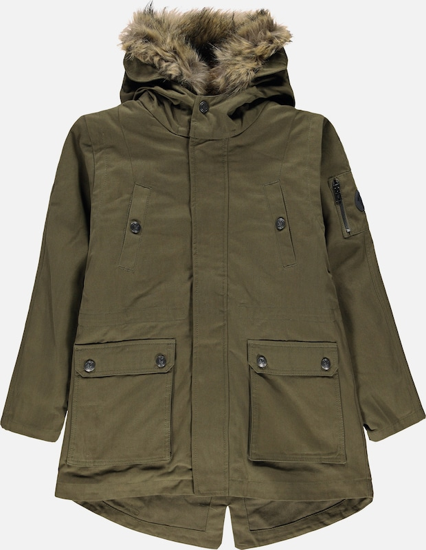 Marc O'Polo Junior Parka in oliv, Produktansicht