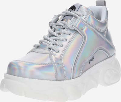 BUFFALO Sneaker 'CORIN' in silber: Frontalansicht
