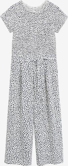 MANGO KIDS Overall 'MONO LYN-H' in de kleur Wit, Productweergave