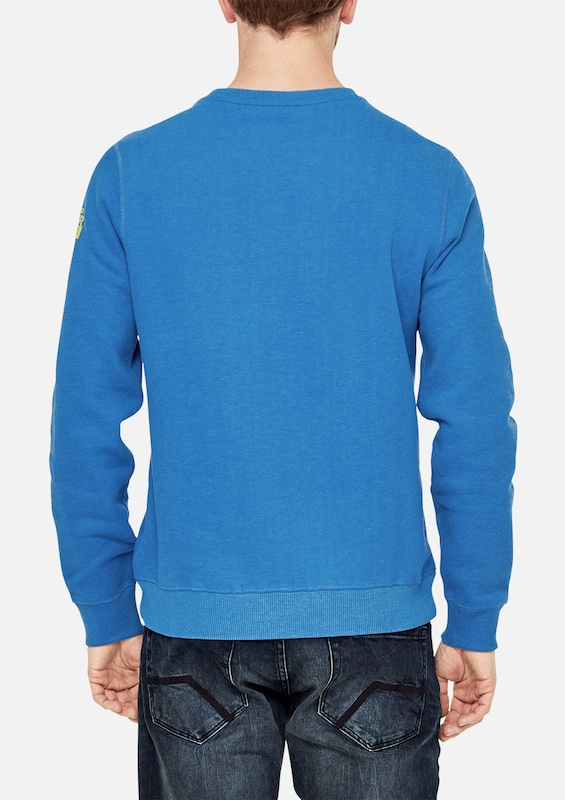 s.Oliver RED LABEL Sweater mit Wording-Print