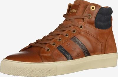 PANTOFOLA D'ORO Sneaker in dunkelblau / braun / weiß, Produktansicht