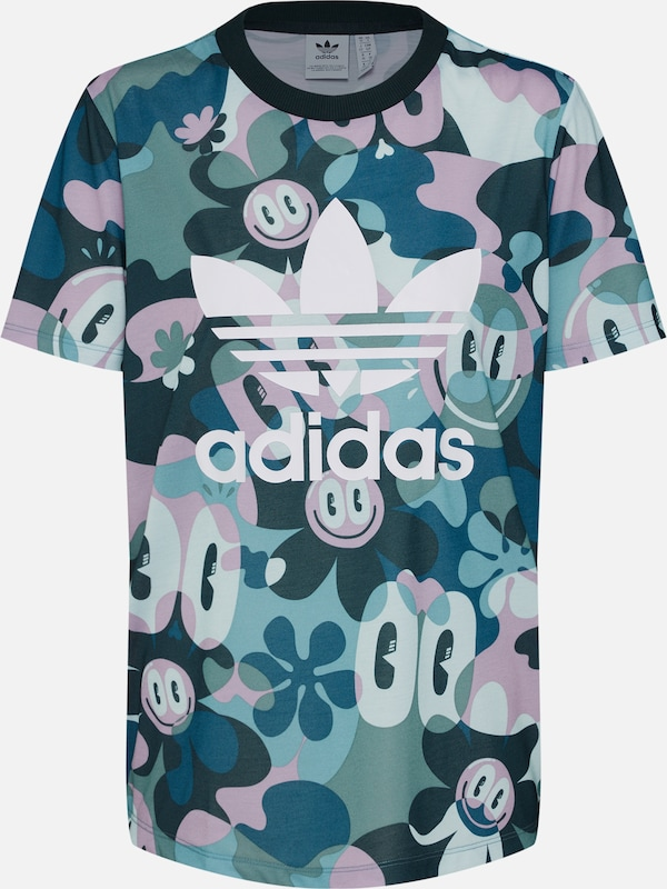 De 'trefoil En Adidas shirt Couleurs Originals T VertMélange Tee' 34LARj5