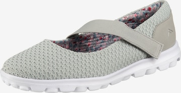 Freyling Ballet Flats with Strap 'Frey-Jane' in Grey