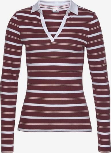 KangaROOS Shirt in rot / weiß, Produktansicht