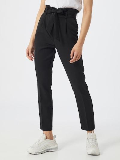 VILA Bügelfaltenhose in schwarz, Modelansicht
