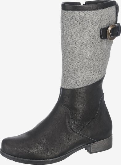 THINK! Stiefel in graumeliert / schwarz, Produktansicht