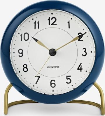 Arne Jacobsen Uhr in Blau