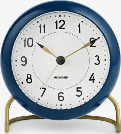 Arne Jacobsen Uhr in blau, Produktansicht