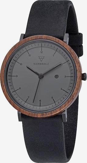 Kerbholz Uhr 'Amelie Midnight' in schwarz, Produktansicht