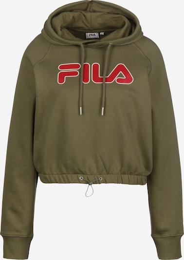 FILA Hoodie ' Uma W ' in khaki, Produktansicht
