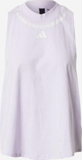 ADIDAS PERFORMANCE Športni top 'W SL Graph Tee' | lila / majnica barva, Prikaz izdelka