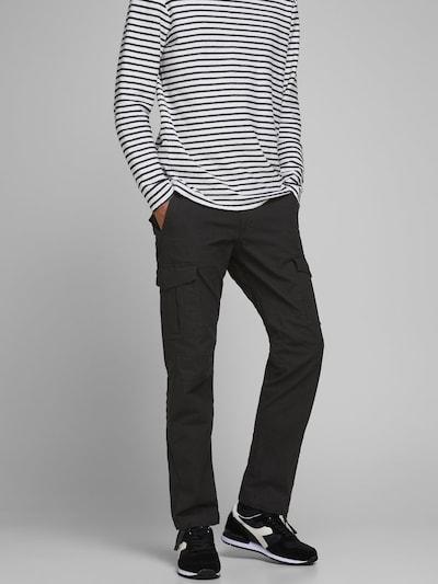 JACK & JONES Pantalon en noir, Vue avec produit