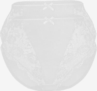 sassa Miederslip 'CLASSIC LACE' in weiß, Produktansicht