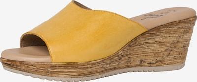 JANA Mule en jaune d'or, Vue avec produit
