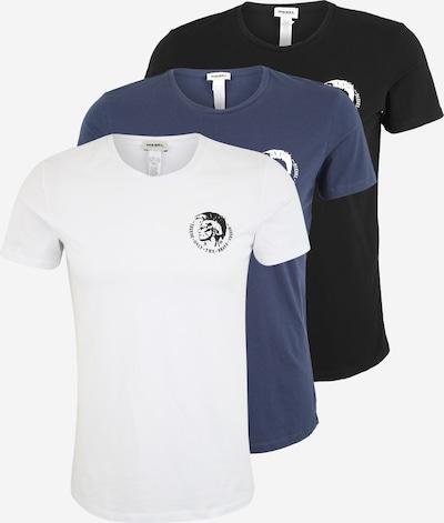 DIESEL Tričko 'Randal' - tmavě modrá / černá / bílá, Produkt