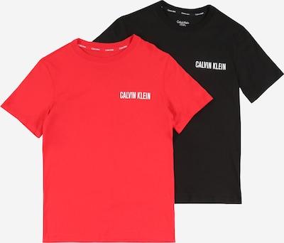 Calvin Klein Underwear Maillot de corps en rouge / noir, Vue avec produit
