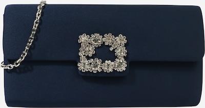 mascara Pochette 'DIAMOND BUCKLE' en bleu marine, Vue avec produit