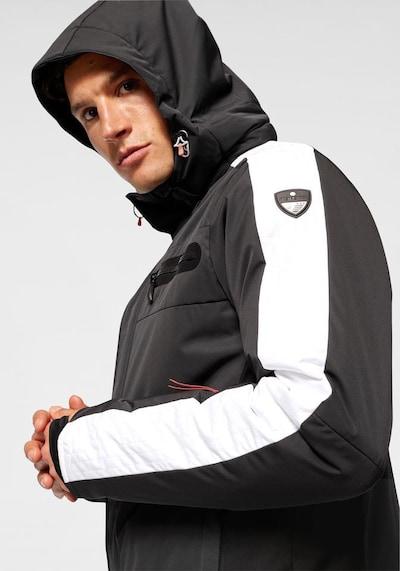 ICEPEAK Skijacke 'Ebern' in schwarz / weiß, Produktansicht