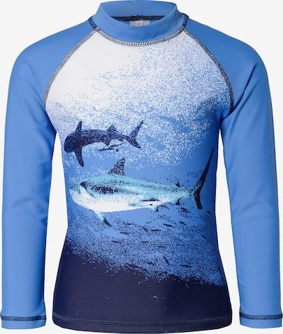 SANETTA Schwimmshirt in blau, Produktansicht