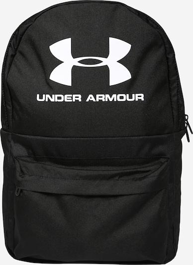 UNDER ARMOUR Rucksack 'Loudon' in schwarz / weiß, Produktansicht