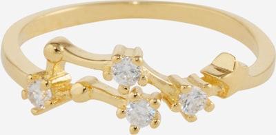 Fräulein Wunder Ring 'Gemini' in gold, Produktansicht