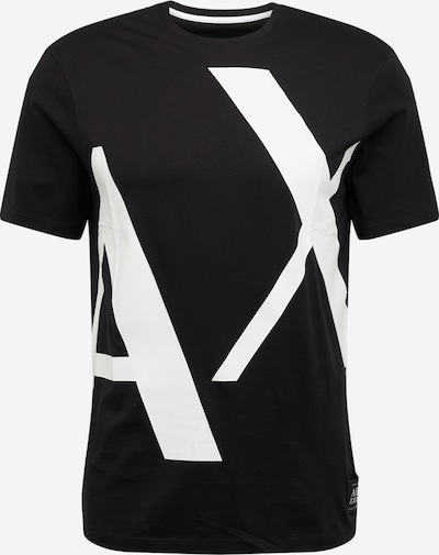 ARMANI EXCHANGE Shirt '3HZTBG' in de kleur Zwart / Wit, Productweergave