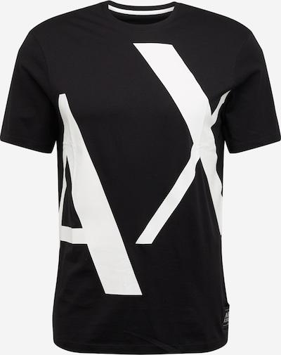ARMANI EXCHANGE T-Shirt '3HZTBG' en noir / blanc, Vue avec produit
