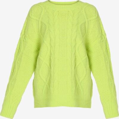 MYMO Pullover in neongrün, Produktansicht