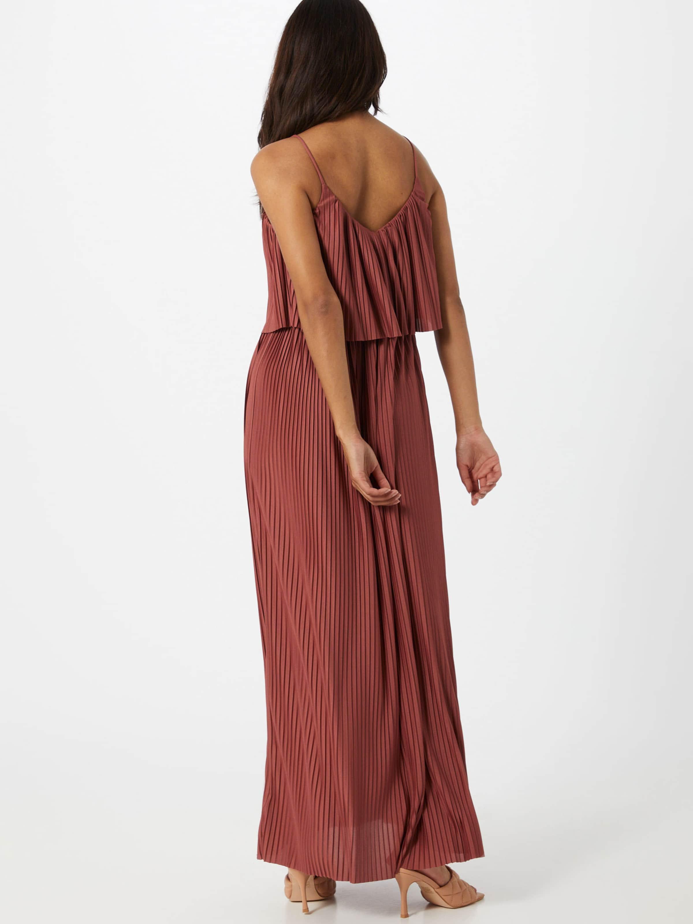 ABOUT YOU Aftonklänning 'Nadia' i rostbrun